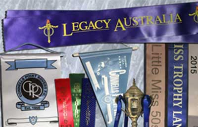 Custom Pennants, Ribbons & Sashes Category Image